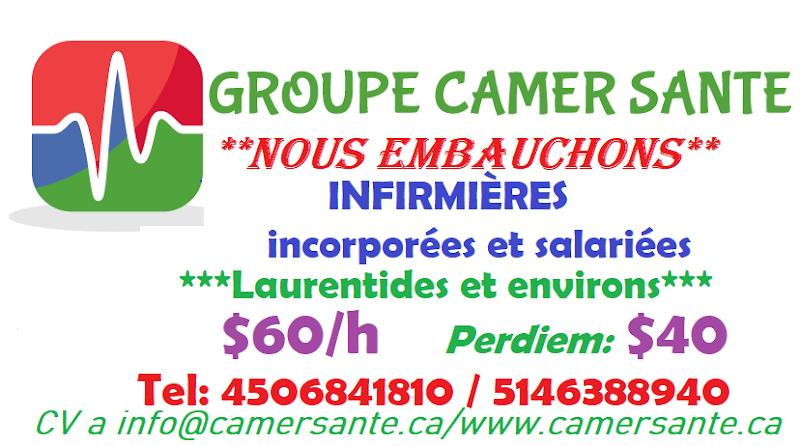 Nursing agency GROUPE CAMER SANTE INC in Longueuil (QC) | theDir