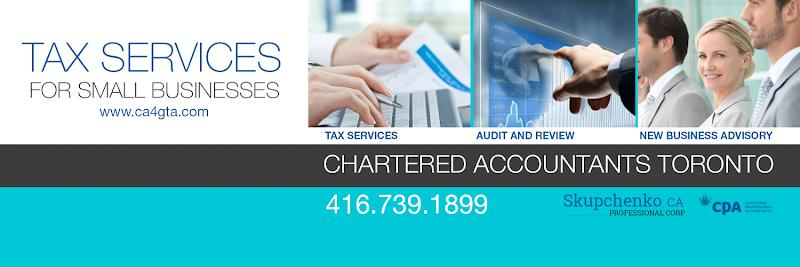 Accounting Skupchenko, CPA, Professional Corporation in Concord (ON) | theDir