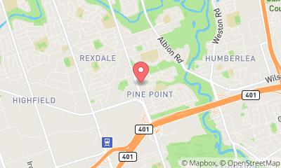 map, Laundry Islington Coin Laundry in Etobicoke (ON) | theDir