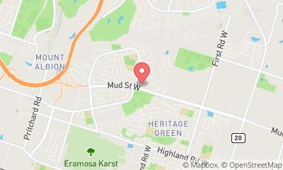 map, Vaporizer Vape Nation E-Cigarettes and E-Liquids in Stoney Creek (ON) | theDir