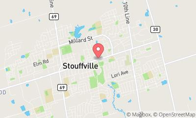 map, Bicycle Shop The Bike Asylum in Whitchurch-Stouffville (ON) | theDir