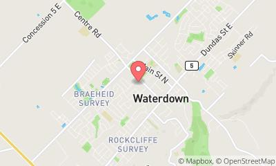 map, Docteur Waterdown Family Med Clinic à Waterdown (ON) | theDir