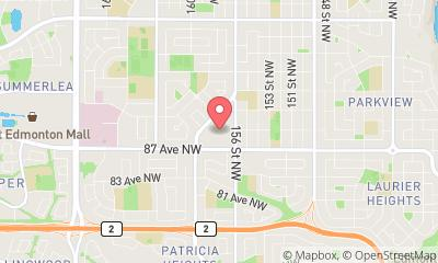 map, Doctor Internal Medicine Meadowlark Health Center in Edmonton (AB) | theDir