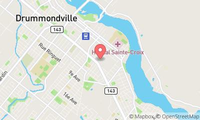 map, Lawyers Paul Biron & Associé | Avocats Drummondville in Drummondville (QC) | theDir