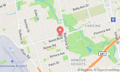 map, Get Well Clinic, Toronto, Virtual Care Walk In