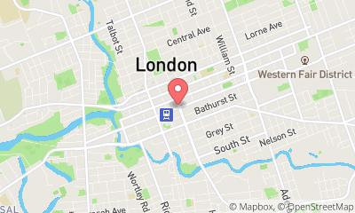 map, Gym GoodLife Fitness London King and Wellington in London (ON) | theDir