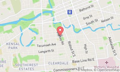 map, Physiotherapist Lifemark Physiotherapy Wortley Village in London (ON) | theDir
