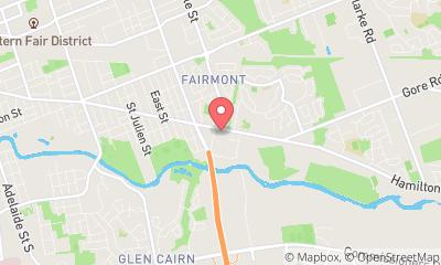 map, Veterinary Fairmont Animal Hospital in London (ON) | theDir