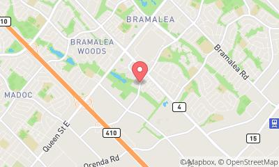map, Shipping No Limits Delivery Services Inc. in Brampton (ON) | theDir