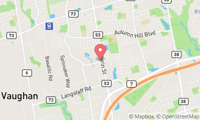 map, Avocats Daniel Brown Law - Vaughan Criminal Lawyers à Concord (ON) | theDir