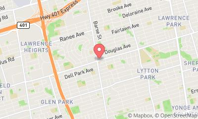 map, Veterinary VCA Canada Lawrence Veterinary Clinic in North York (ON) | theDir