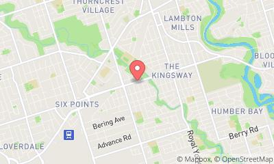 map, Massage Massage Therapy in Etobicoke (ON) | theDir