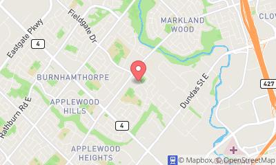 map, Cleaners CARPET AND UPHOLSTERY STEAM CLEANING in Mississauga (ON) | theDir