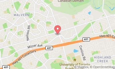map, Docteur Morningside Medical Ctr à Scarborough (ON) | theDir