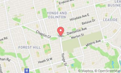 map, Pharmasave Davisville