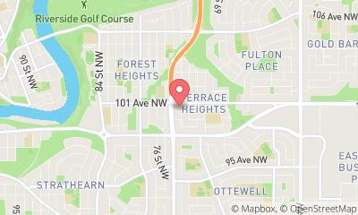 map, Docteur Forest Heights Medical Clinic à Edmonton (AB) | theDir