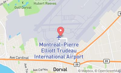 map, Hatley Boutique Montreal Airport