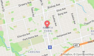 map, Ammeublement Structube à North York (ON) | theDir