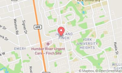 map, Pharmacy PHARMACIA DRUGS in North York (ON) | theDir