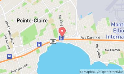 map, Psysiotherapiste Physio Equilibre à Pointe-Claire (QC) | theDir