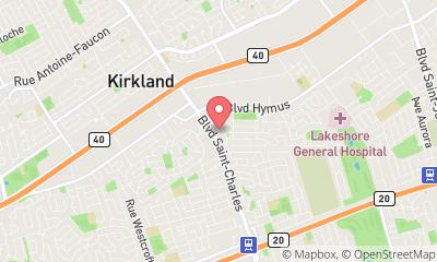 map, Dentist Centre Dentaire Kirkland in Kirkland (QC) | theDir