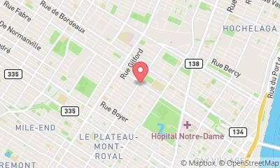 map, Gym Gym du Plateau in Montréal (QC) | theDir