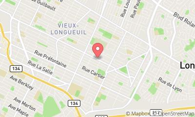 map, Nursing agency GROUPE CAMER SANTE INC in Longueuil (QC) | theDir