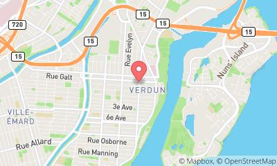 map, Magasin alcool SAQ à Verdun (QC) | theDir