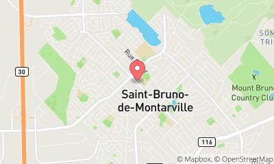 map, Tobacco Tabagie St Bruno in Saint-Bruno-de-Montarville (QC) | theDir