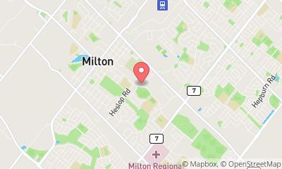 map, Doctor Watada Brian Dr in Milton (ON) | theDir